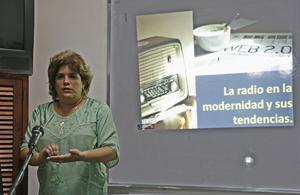 Ana Teresa Badía, una apasionada del universo radiofónico