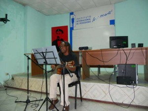 cantautor Gerardo Alfonso