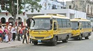 Cooperativa de transporte, como forma de gestión no estatal en La Habana