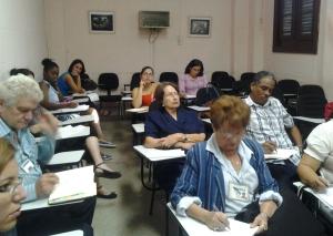 Los participantes del Taller recibieron las conferencias de prestigiosos grupo de investigadores que dialogaron sobre la comunicación de la ciencia cubana.