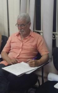 Omar George, profesor y coordinador del Posgrado Audiovisual.
