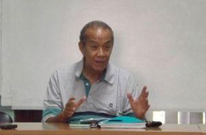 Doctor Eduardo Heras León, director del Centro de Formación Literaria Onelio Jorge Cardoso.