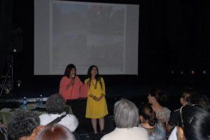 Benny Cruz Zapata y Lucia Calderón, de México, exponen su ponencia en el XII Encuentro de Género y Comunicación. Foto Yoandry Avila.