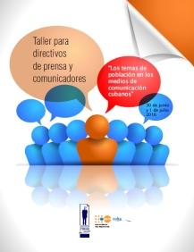 taller directivos sobre temas de población