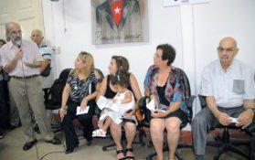 Familiares, amigos y compañeros de trabajo de Marrero se refirieron a sus valores y trayectoria (Foto: YAG)