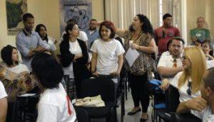 Ya sesiona el 2do Encuentro de Jóvenes Periodistas. (Foto: Yoandry Avila)