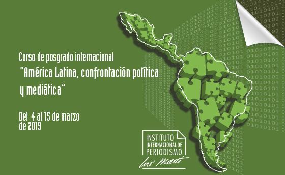 """""""américa latina, confrontación política y mediática"""""""
