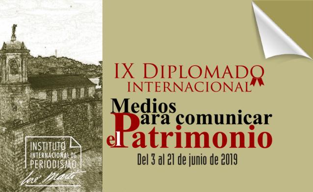 IX Diplomado Medios para comunicar el patrimonio